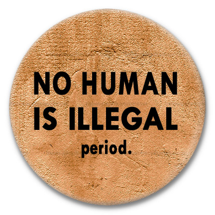 no human is illegal period button