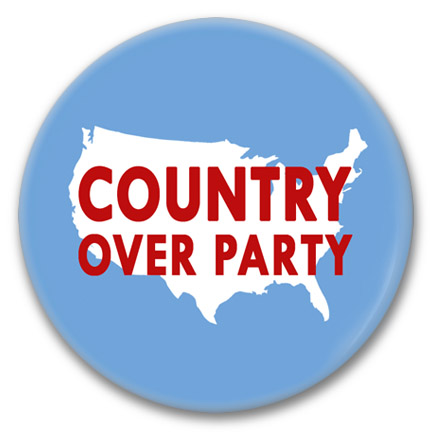 country over party button