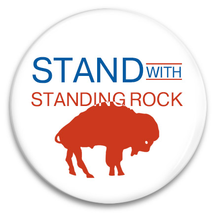 stand with standing rock button