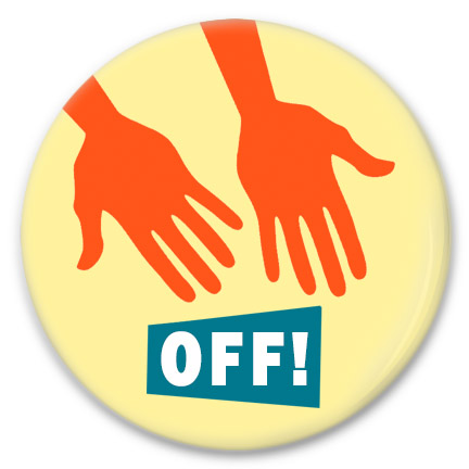 hands off button
