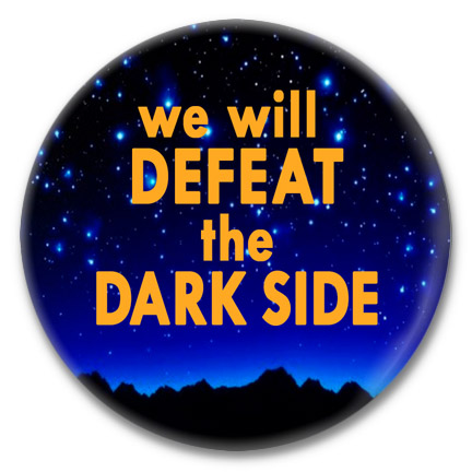 defeat the dark side button