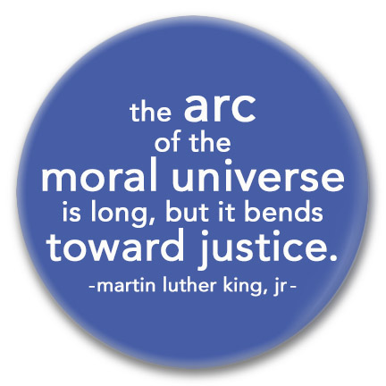 the moral universe button