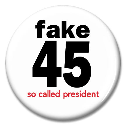fake 45 button