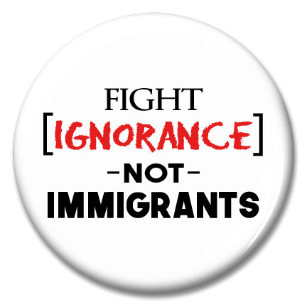 fight ignorance button
