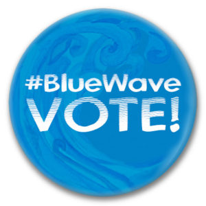 bluewave vote! button