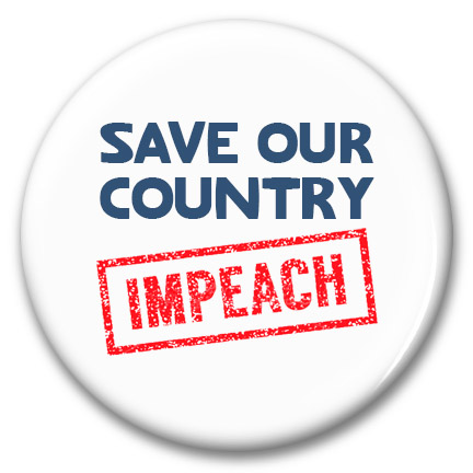 impeach save our country button