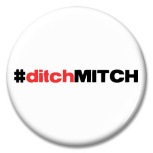ditch mitch button