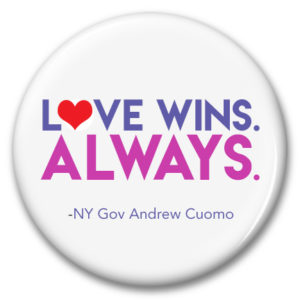 love wins always button